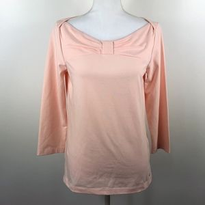 Kate Spade Wheaten Top in Pale Pink L